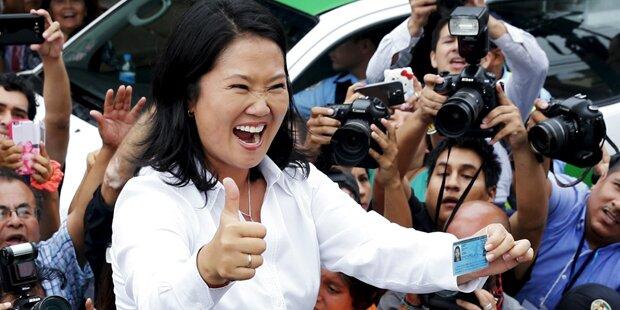 Peru: Fujimori gewinnt Präsidentenwahl