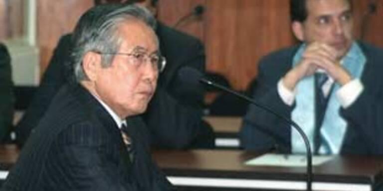 Sechs Jahre Haft für Perus Ex-Präsident Fujimori