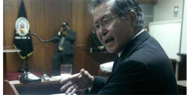 25 Jahre Haft für Perus Ex-Präsident