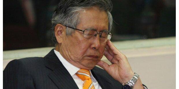 Fujimori gesteht Korruption
