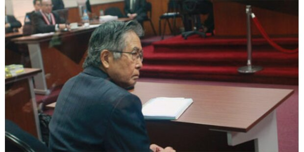 Fujimori erneut zu Knast verurteilt