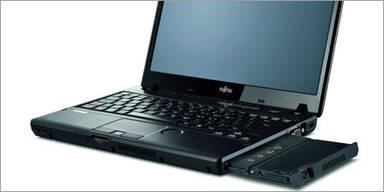 Fujitsu: Integrierter Notebook-Beamer