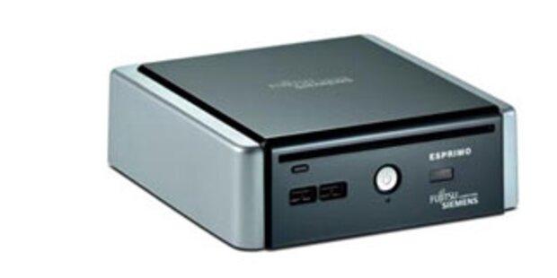 Fujitsu Siemens bringt Mini-Stromspar-PC