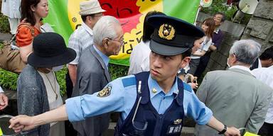 Fukushima-Demo in Japan