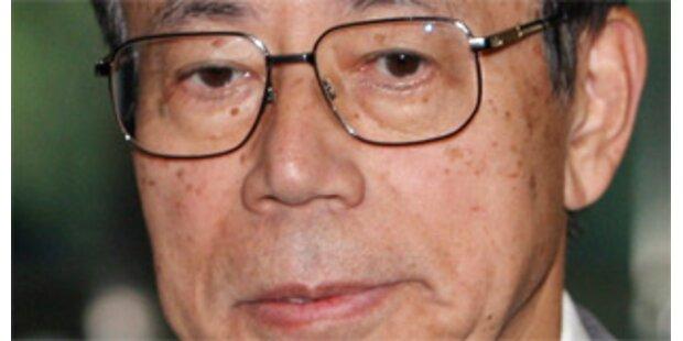 Fukuda folgt Premier Abe