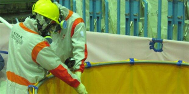 Arbeiter stirbt in Katastrophen-AKW