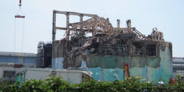 Fukushima: Tonnen an AKW-Wasser laufen aus