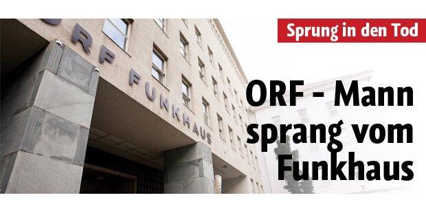 ORF-Mann sprang vom Funkhausdach