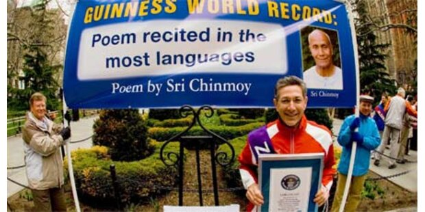 New Yorker hält 100 Weltrekorde