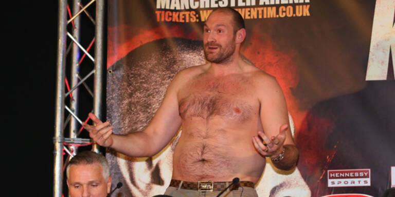 Fury verblüfft über Doping-Medienberichte
