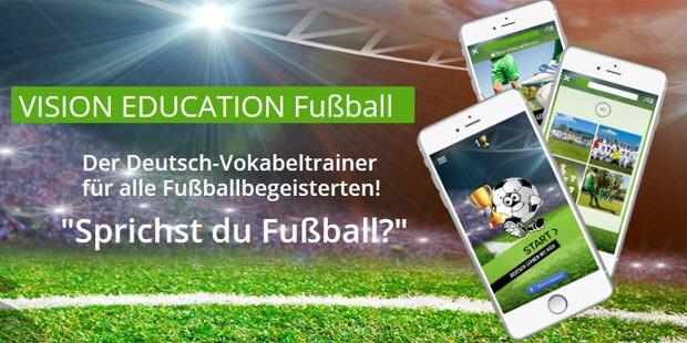 Deutsch & Englisch mit Fußball-App lernen