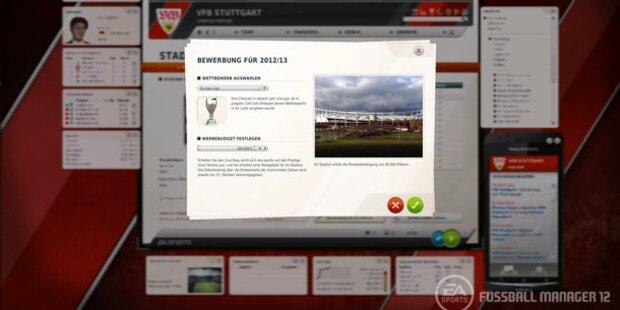 Fussball Manager 12: Demo verfügbar