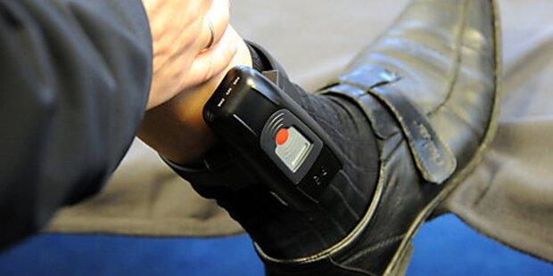 51-jähriger Sexualstraftäter erhält Fußfessel
