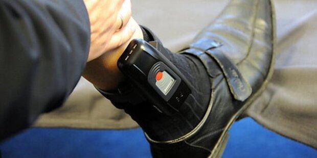 Fußfessel statt Haft für Sex-Täter