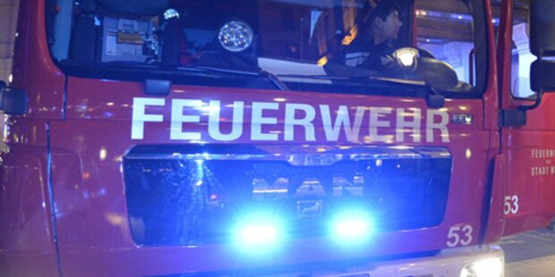 Großbrand in NÖ: Vierkanthof in Flammen