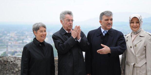 Gül beendete Besuch in Österreich
