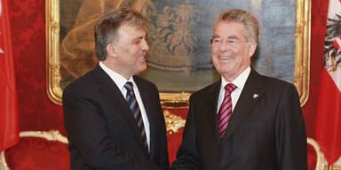 Präsident Gül besuchte Mozarts Wohnhaus
