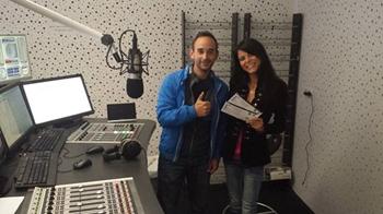 Daniel Fettner und Radio24 Gewinnerin Kathi