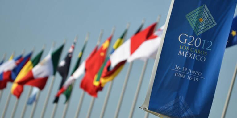G-20-Gipfel im Zeichen der Griechen-Wahl