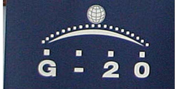 """G-20 sollen Weltwirtschaft """"regieren"""""""