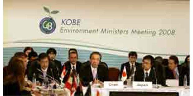 G-8-Umweltminister wollen Treibhausgase halbieren