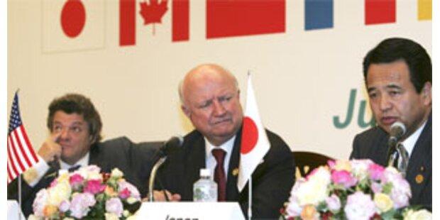 G-8-einigen sich auf Energie-Partnerschaft