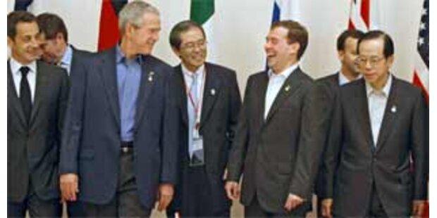 G-8 einigen sich über langfristiges Klimaziel