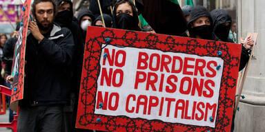London: Straßenproteste vor G8-Gipfel
