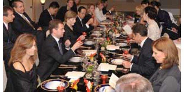 G-8-Gipfel im Zeichen des Hungers