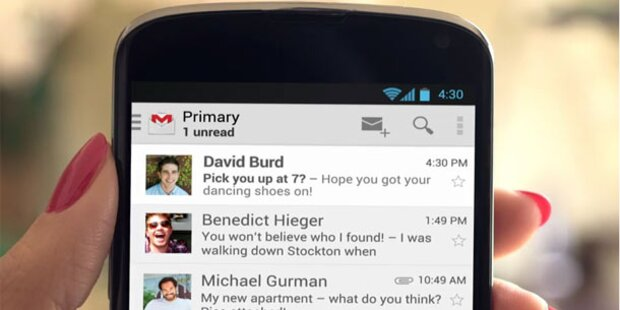 Login-Daten von Gmail-Nutzern im Netz