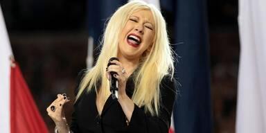 Aguilera versagte bei National-Hymne