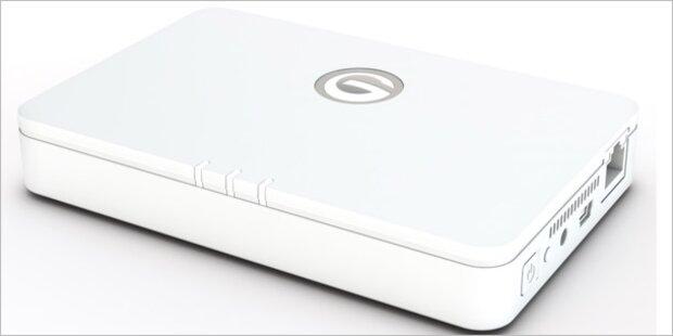 g technology g connect festplatte mit wlan und hotspot. Black Bedroom Furniture Sets. Home Design Ideas