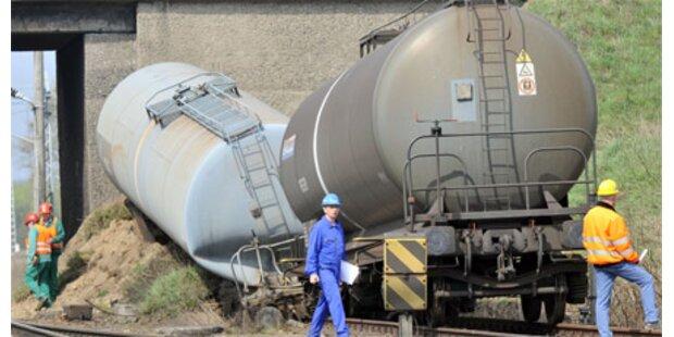 Güterzug mit Benzin verunglückt
