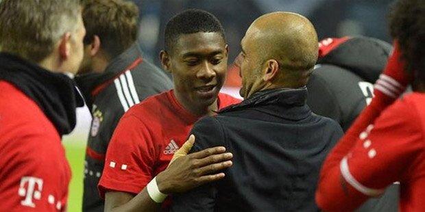 Gerücht: Guardiola will Alaba zu ManCity holen