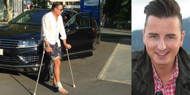 Gabalier: Comeback auf Krücken