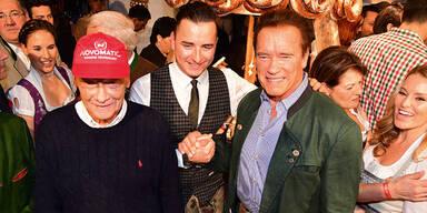 Arnie & Gabalier rockten beim Stanglwirt