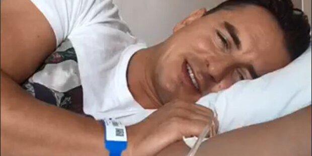 Lebensmittelvergiftung: Andreas Gabalier im Krankenhaus