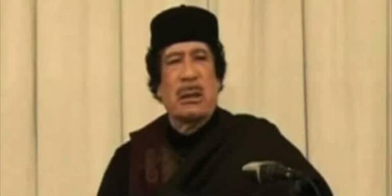 Gaddafi droht Europa und erobert Terrain