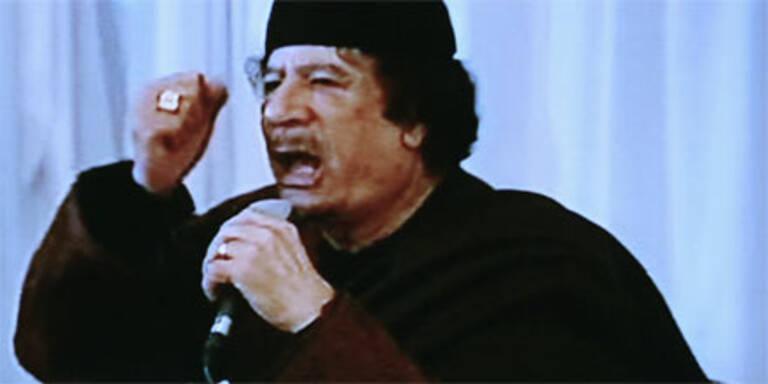 Gaddafi verspricht Anhängern Sieg