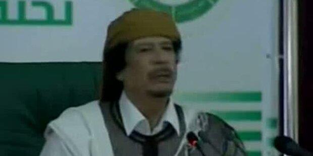 Gaddafi droht mit unzähligen Todesopfern