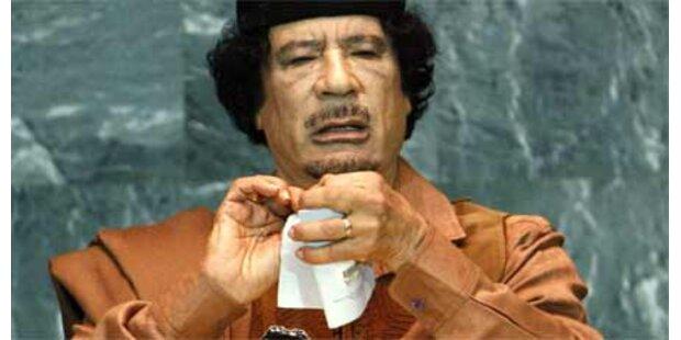 Gaddafis Übersetzer kollabierte bei Rede
