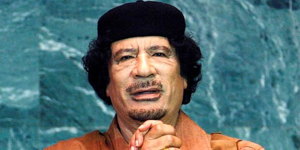 Gaddafi ist noch in Libyen