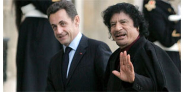 Paris schloss Atomabkommen mit Libyen