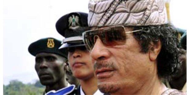 Das ist Muammar Gaddafi