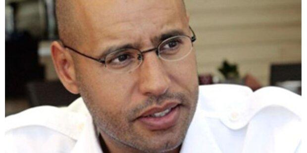 Gaddafi-Sohn spricht von