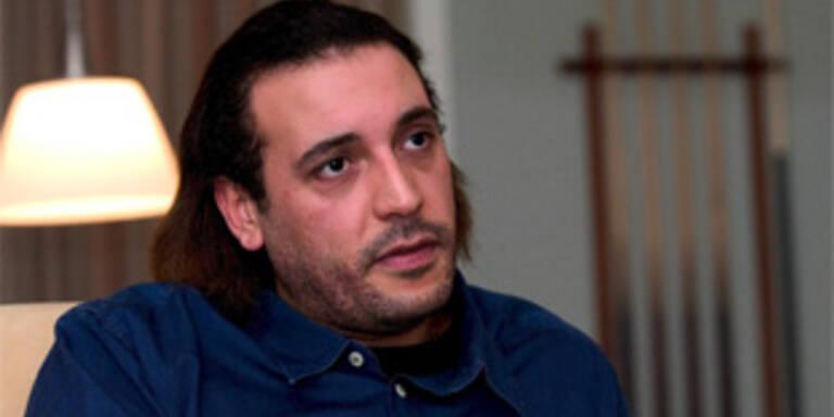 Motassim Bilal Gaddafi, auch genannt Hannibal