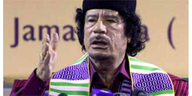 Gaddafi zu Afrikas