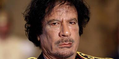 Gaddafi reitet Attacke gegen Israel