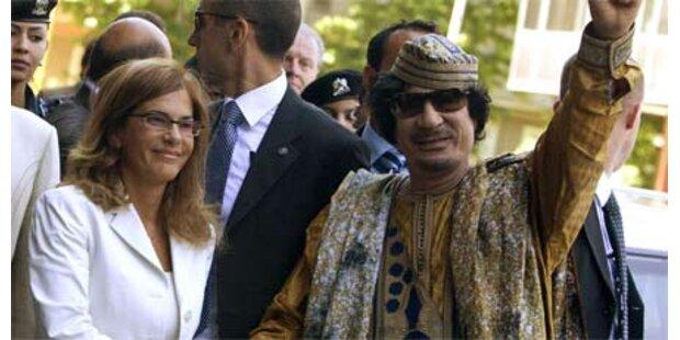 Gaddafi traf mit 1.000 Frauen zusammen