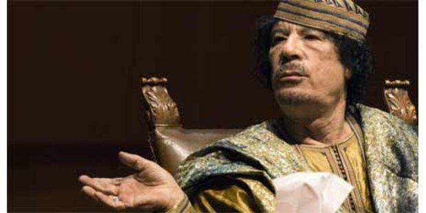 Gaddafi sorgt für Eklat in Italien